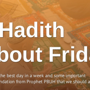 7 hadith about Jumuah